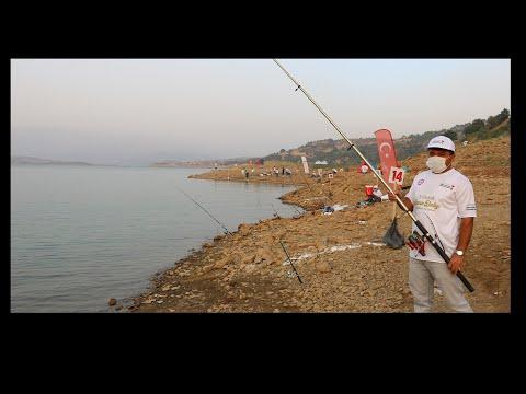 '1 Ulusal Sazan Balığı Yakalama Yarışması' Düzenlendi