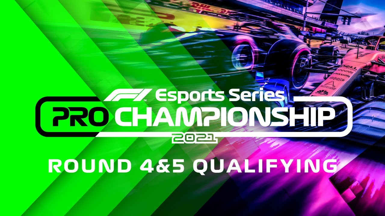 LIVE: 2021 F1 Esports Pro Championship: Rounds 4-5 Qualifying