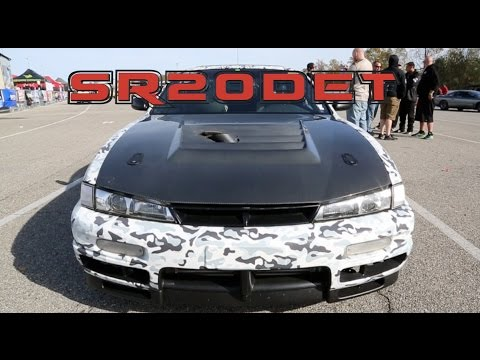 NASTY 1000HP SR20 S14 Rowing Gears into the 8's! - IDS Suspension