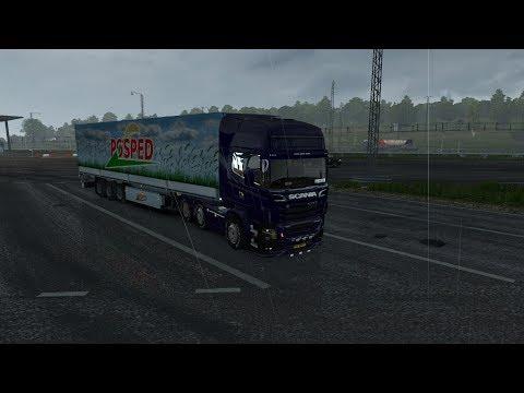Rijden naar Rotterdam  Euro Truck Simulator 2