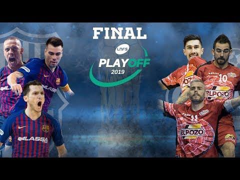 Acto de presentación de la Final del Play Off por el título: Barça Lassa - ElPozo Murcia