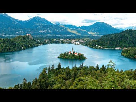 Lake Bled, Slovenia in 4K