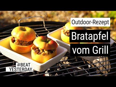 Outdoor-Rezept: Bratapfel vom Grill | #BeatYesterday