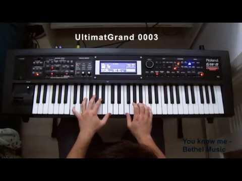 Demonstração de timbres no Roland Gw-8 (worship) - UCrt9vEpRZYQtAIXfRCHT7qg