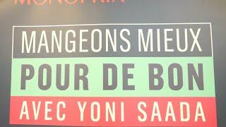 Recettes de cuisine : L'Académie du Goût Yoni Saada chez Monoprix avec l'Académie du Goût en vidéo