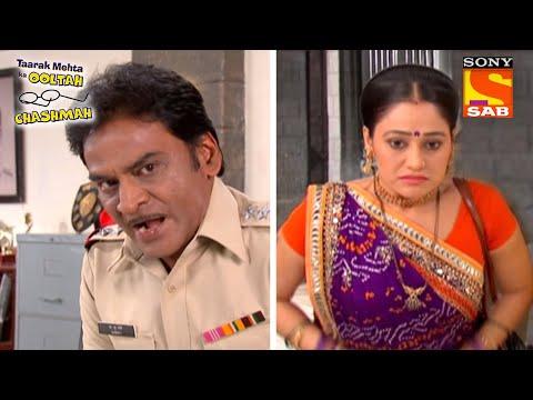 Inspector Chalu Pandey ने पूछे कुछ कठिन सवाल   तारक मेहता का उल्टा चश्मा   Daya Special