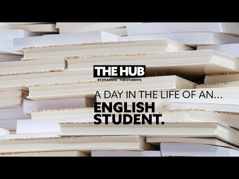 A Day in the Life of an English Language Student