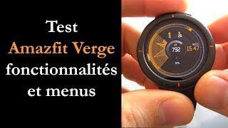 Test Xiaomi Amazfit Verge Liste Des Notes Avis Pour