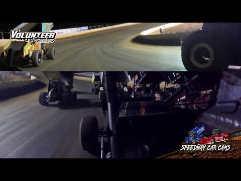 #67 Jason McCoy - USCS Sprint - 9-25-21 Volunteer Speedway - In-Car Camera - dirt track racing video image