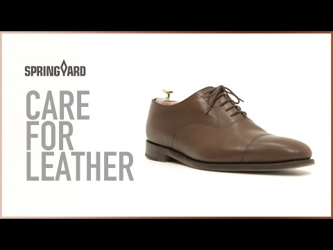 Care For Leather