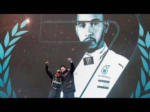 Hamilton conquista su séptimo campeonato mundial
