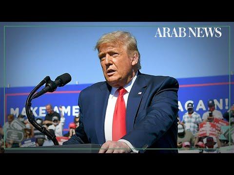 Trump calls for 'thundering' Democrat poll defeat at Arizona rally