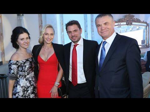 Raonic, Wawrinka, Berdych Attend 2016 St Petersburg Gala
