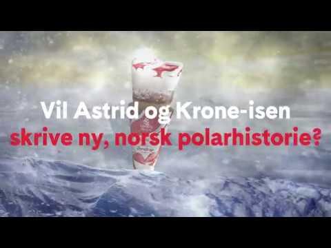 Astrid og Krone-isen fra Hennig-Olsen skal skrive polarhistorie!