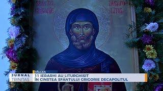 11 ierarhi au liturghisit in cinstea Sfantului Grigorie Decapolitul