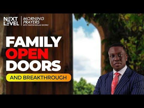 Next Level Prayers  Family Open Doors And Breakthrough  Pst Bolaji Idowu   12th July 2021