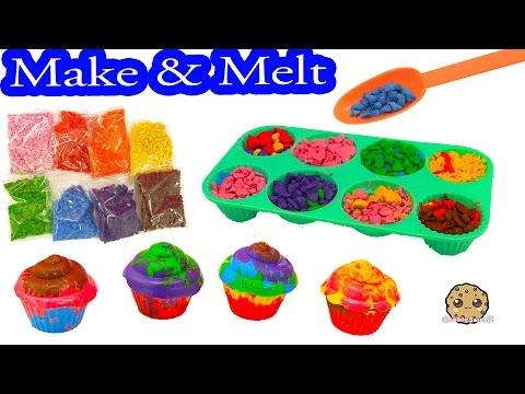 Mix, Make, & Melt Colorful Doodle Cake Cupcake Crayon Maker Craft Kit - Cookieswirlc - UCelMeixAOTs2OQAAi9wU8-g