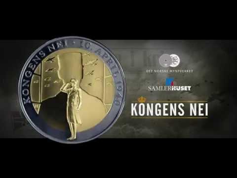 """""""Kongens Nei"""" - offisiell minnemedalje"""