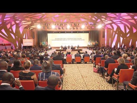 Cérémonie solennelle d'ouverture du 18e Forum de l'AGOA, présidée par le Président OUATTARA