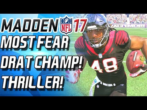FRIGHT FEST THRILLER! MOST FEARED DRAFT CHAMPS! - Madden 17 New Music Video