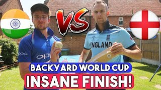 INDIA v ENGLAND | NO Match Fixing Allowed - Backyard World Cup 2019