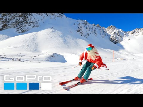 GoPro Awards: Santa Claus is Skiing to Town