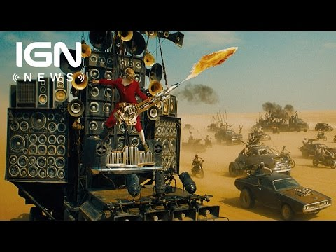 Mad Max: Fury Road's Flame-Spewing Guitar Actually Works - IGN News - UCKy1dAqELo0zrOtPkf0eTMw