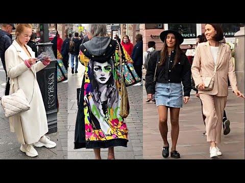 Россиянки отрываются Стрит стайл Аутфиты Образы на осень Модниц Петербурга Что надето Street Fashion
