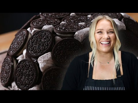 Alix's Cookies and Ice Cream Dome Cake ? Tasty