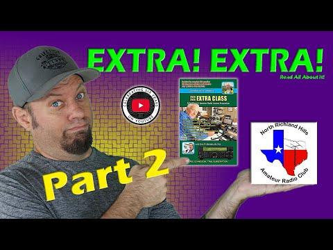 Ham Radio EXTRA Class License Course Part 2   Extra Class Study Guide