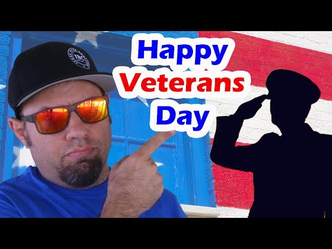 Happy Veterans Day!  - Lunchtime Livestream