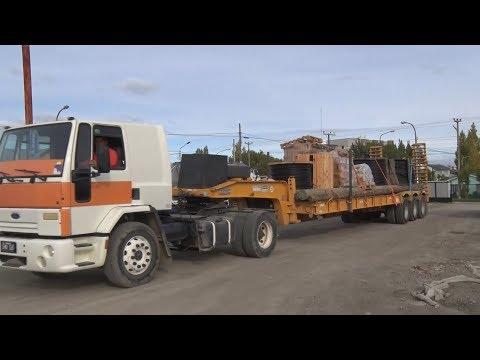 Servicios Públicos envía a El Calafate materiales para trabajar en la Zona Alta