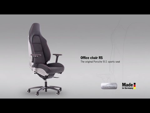 Office chair RS ? the original Porsche 911 sports seat.