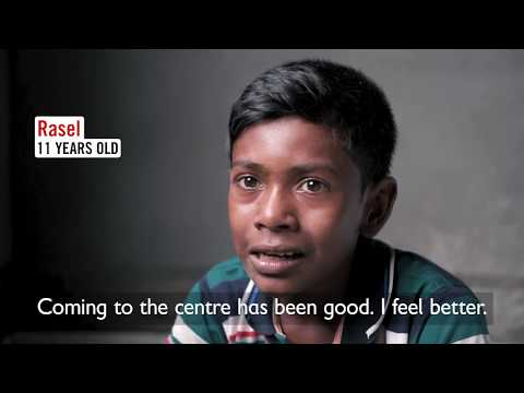 Rasel in Dhaka  - Let's Play for Change Campaign 2017