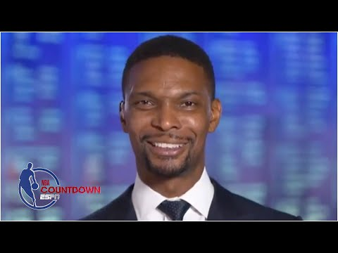 Chris Bosh reacts to being elected into the 2021 Basketball Hall of Fame Class | NBA Countdown