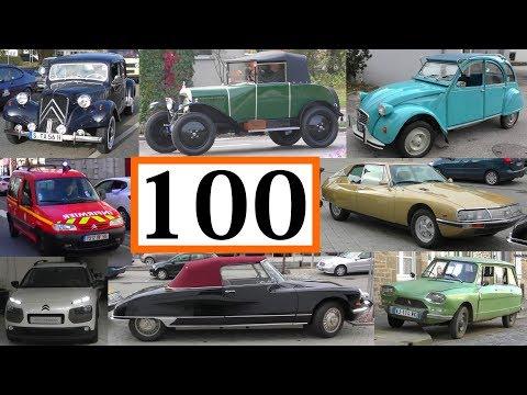MEGA MOVIE *100 Jahre Citroen* 100 years Citroën* 100 ans 1919 - 2019 on the road - auf der Straße - UCHveENfxQf4Hw-hCPmygoaw