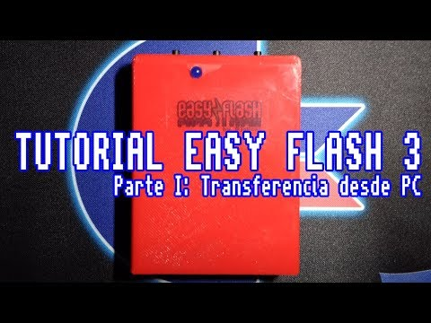 Tutorial Easy Flash - Parte I: Instalando Juegos desde PC #Commodore Spain videos