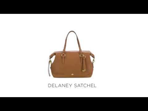 Brahmin Delaney Satchel Video