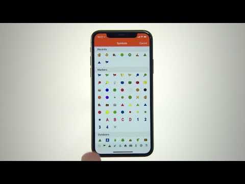 Garmin Explore - Utilisation de l'application pour enregistrer des waypoints et des itinéraires