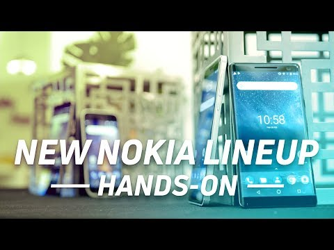 New Nokia Lineup Hands-Ons