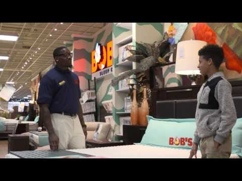 Pittsburgh Steelers OL Arthur Moats | Undercover at Bob's Discount Furniture