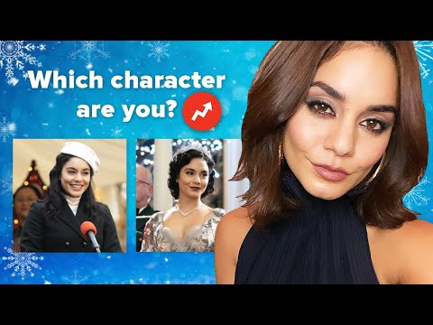 "Vanessa Hudgens Finds Out Which ""The Princess Switch: Switched Again"" Character She Really Is"
