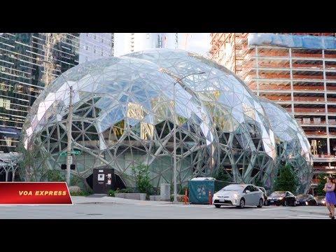 Bên trong trụ sở của Amazon (VOA)