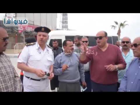 بالفيديو: محافظ مطروح يتابع أعمال التطوير النهائية ب الميادين والكورنيش