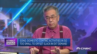 A full-year recession is a possibility for Singapore: Economist   Street Signs Asia