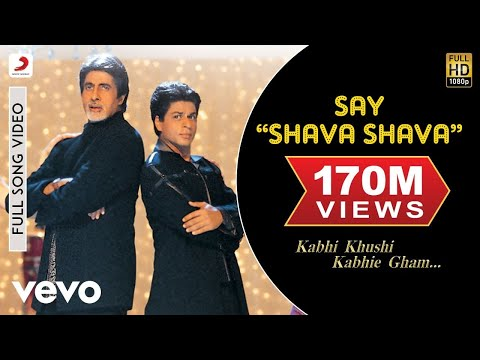 K3G - Say Shava Shava Video   Amitabh Bachchan, Shah Rukh Khan - UC3MLnJtqc_phABBriLRhtgQ