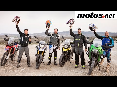 Comparativo Mini Trails 2018 | BMW, HONDA, KAWASAKI y SUZUKI / Review en español | motos.net
