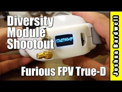 Furious FPV True-D | FATSHARK DIVERSITY MODULE COMPARISON - UCX3eufnI7A2I7IkKHZn8KSQ