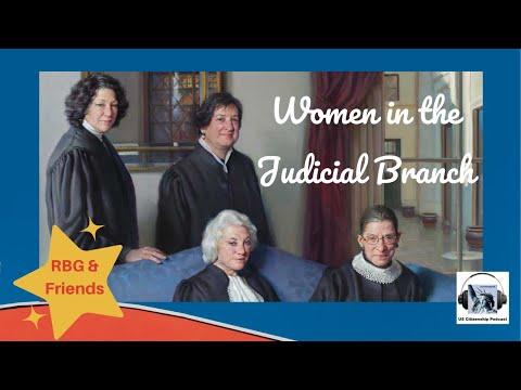 Ruth Bader Ginsburg and the Judicial Branch
