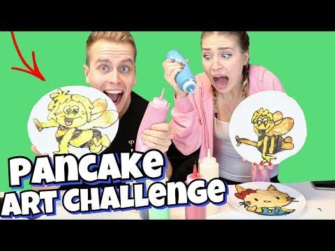 Das große Battle: Pancake Art Challenge  😏🥞   BibisBeautyPalace - UCHfdTAyg5t4mb1G-3rJ6QsQ